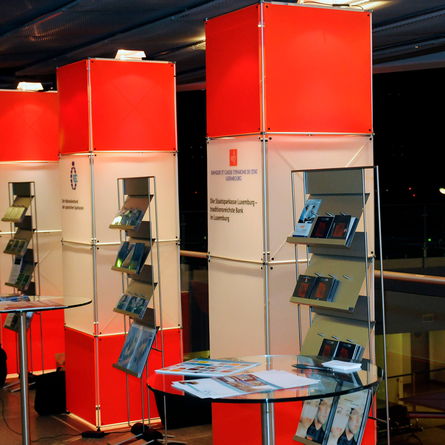 RSGV in-house exhibition booth
